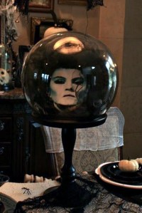 Creepy Halloween Crystal Ball