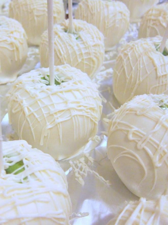 Bride & Groom Candy Apples