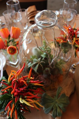Chili Peppers, Succulents & Tulips by Show Stoppers