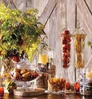Fall Tablescaping Apothecary Vases
