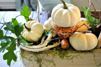 Kristen's Fall Pumpkin Centerpiece