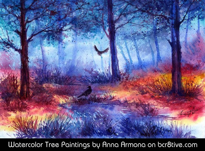 Mysterious Forest by Anna Armona