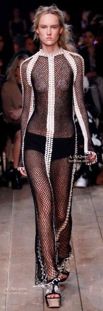 Mesh Gown - The Best of Alexander McQueen 2016