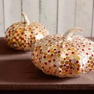 Mercury Mirror & Grout Pumpkin