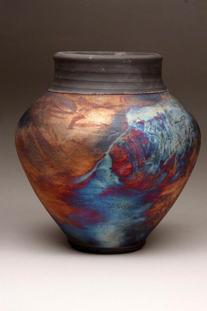 Raku Pottery by Keri Fischer