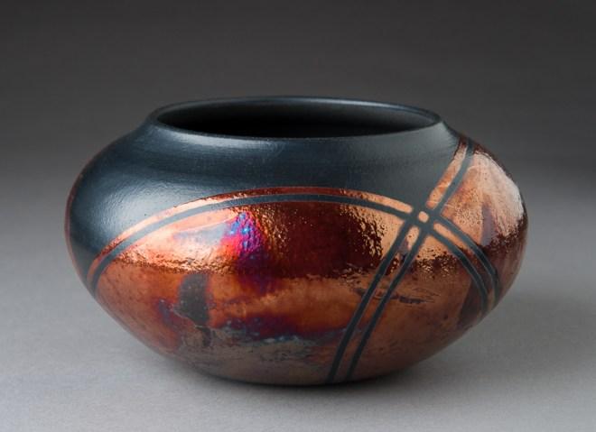 Raku Pottery by Lori Cramer