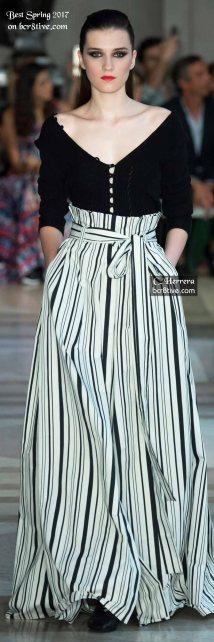 Carolina Herrera - The Best Looks from New York Fashion Week Spring 2017