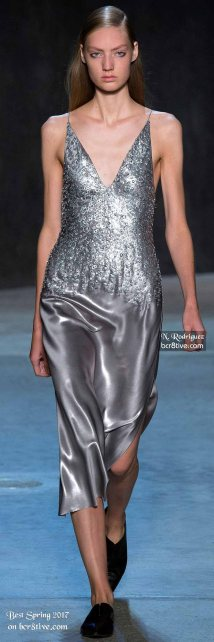 Narciso Rodriguez - The Best Looks from New York Fashion Week Spring 2017