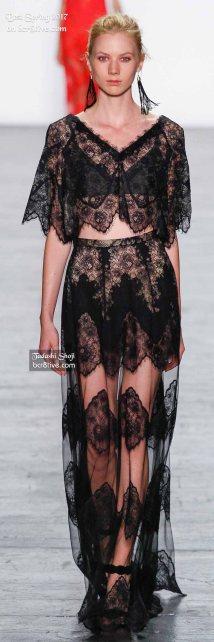 Tadashi Shoji - The Best Looks from New York Fashion Week Spring 2017