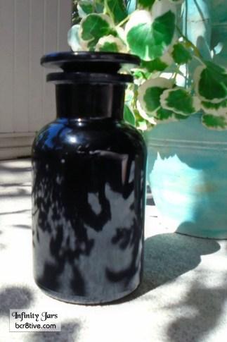 250 ml Glass on Glass Apothecary Jar