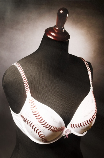"Art Bra ""A League of Their Own - Support Your Peaches"""