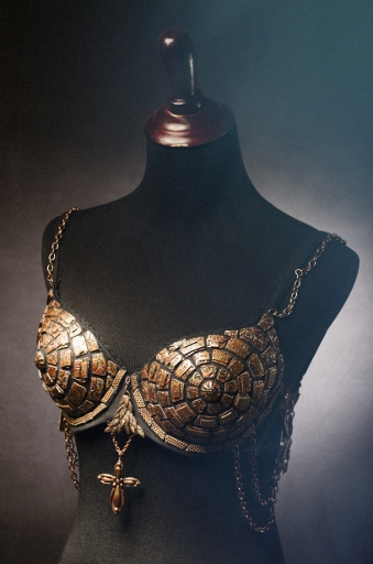 "Art Bra ""The Armor of Her Faith"""