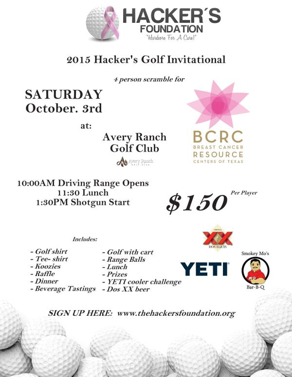 Hacker's Golf Tournament