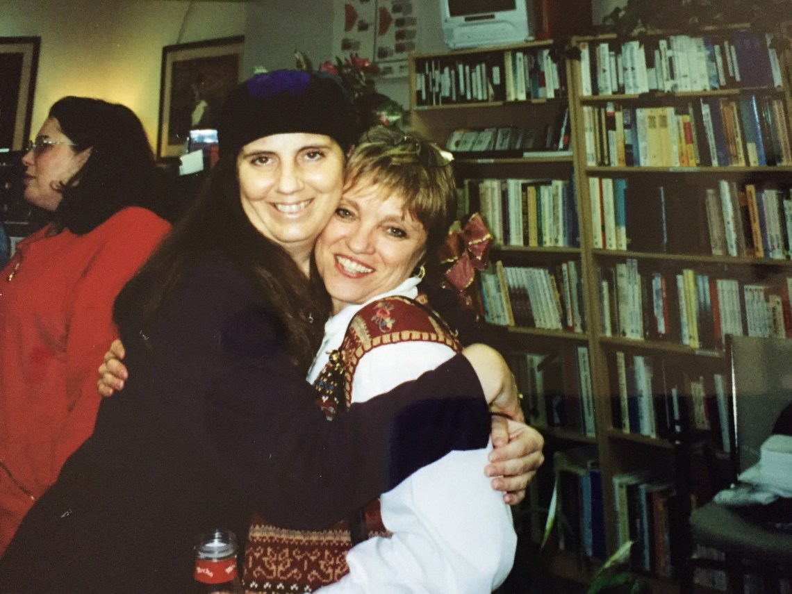 ia Boyce and Ann Lawlor in the BCRC library in 1996.