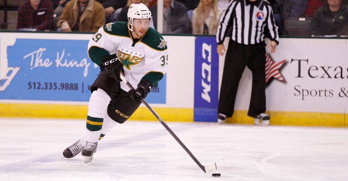 Texas Stars player Derek Hulak
