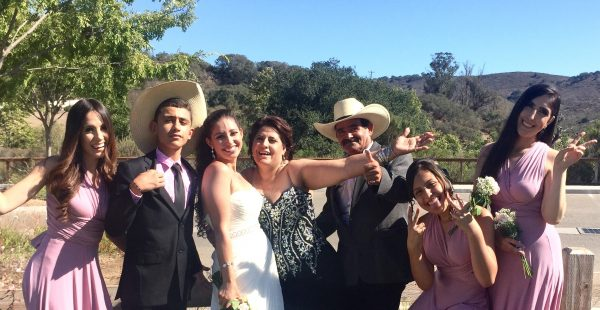 Maria Perez and Family