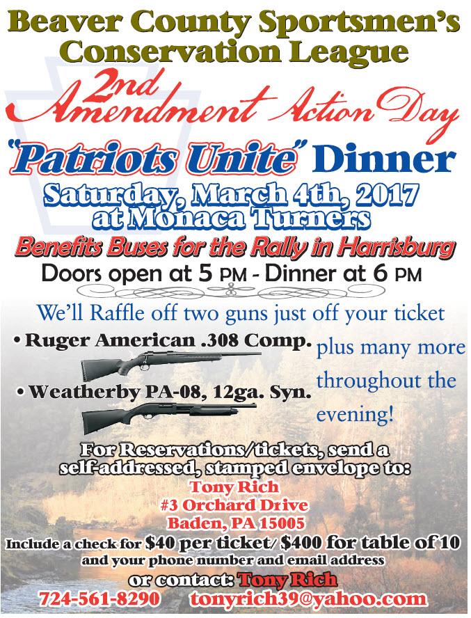 Patriots Unite Dinner