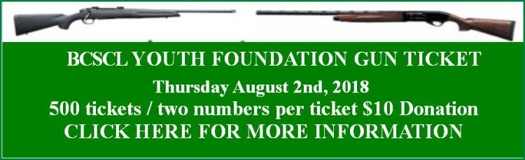 2018 August Gun Ticket