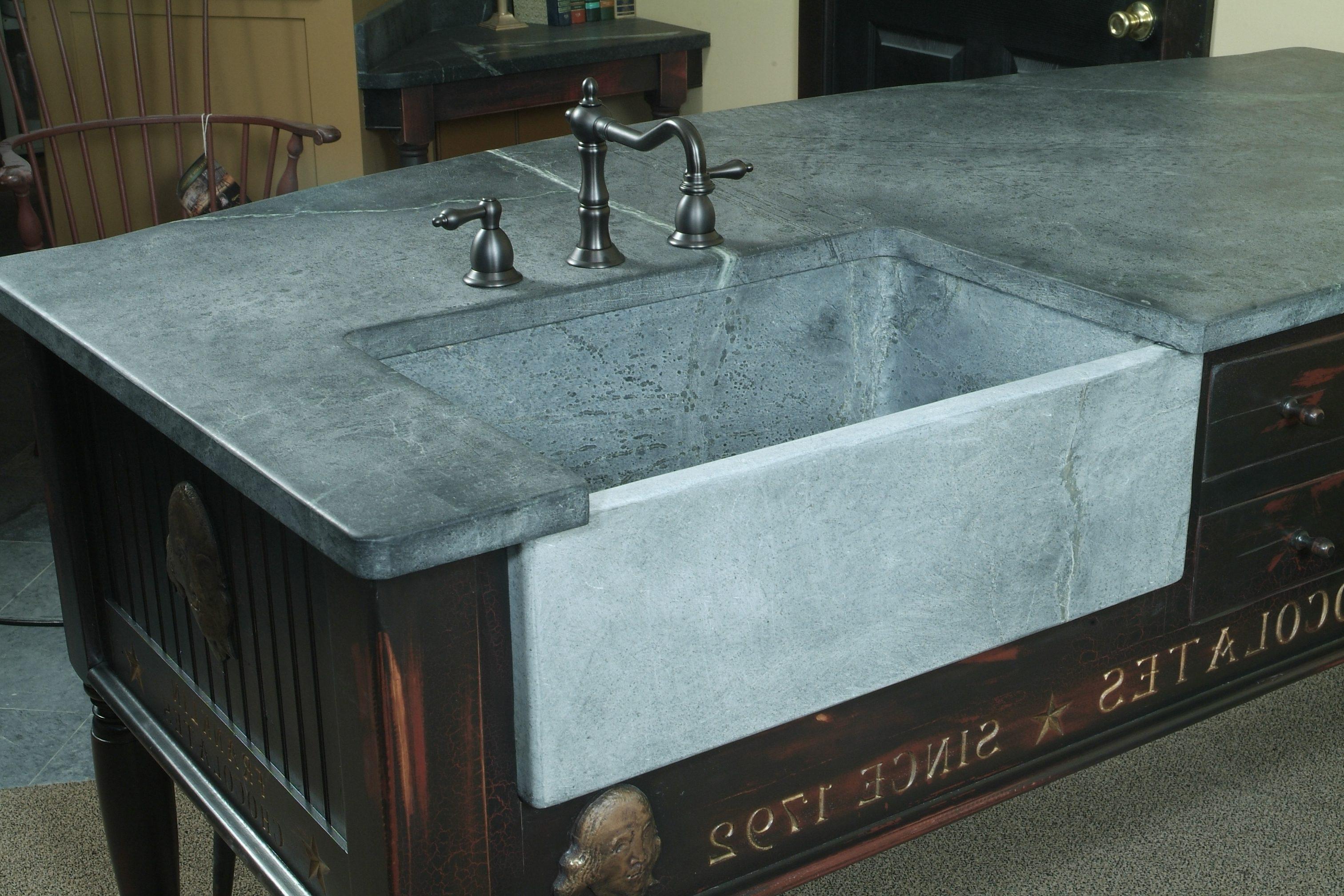 block sinks bucks county soapstone