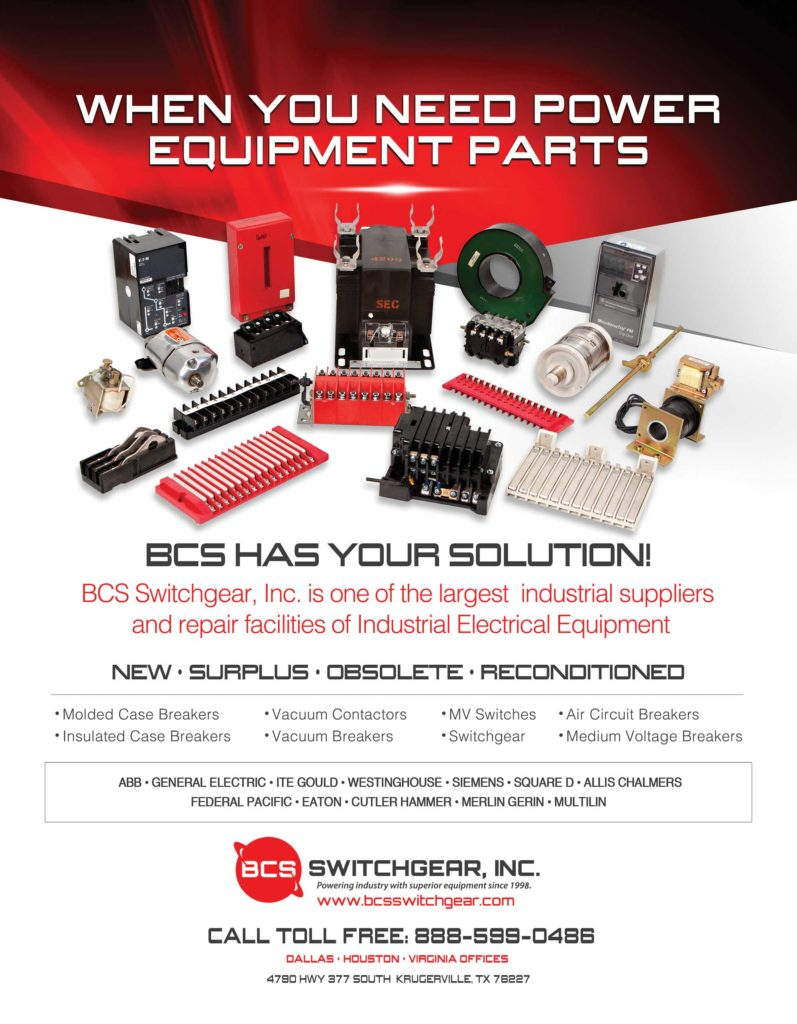 Switchgear Parts Replacement