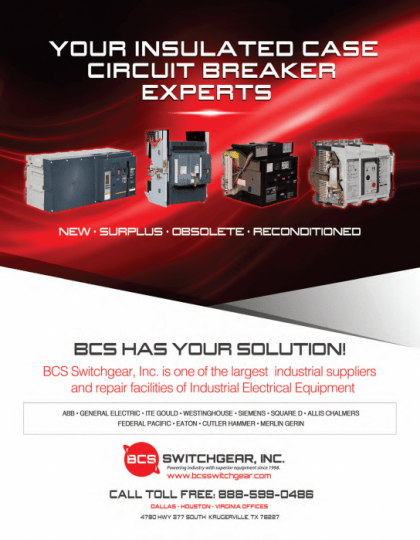 Insulated Case Circuit Breaker Repair and Testing