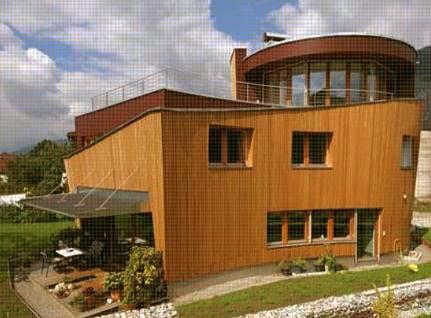 Austrian wood architecture