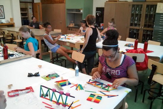 Girls Inc. Summer Camp at BCT