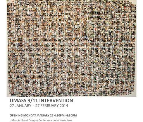 "BCT PhD student's ""UMass 9/11 Intervention"" on display in Campus Center"