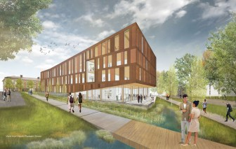 The Design Building At Umass Amherst Building And Construction Technology Umass Amherst