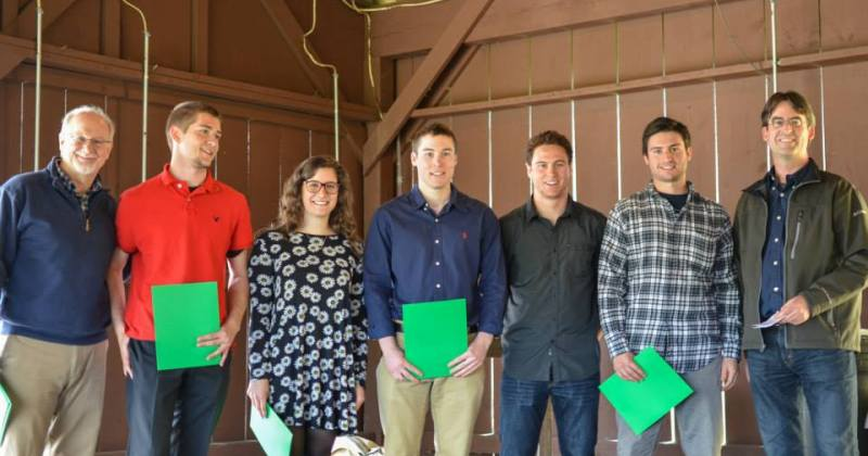 BCT Student Awards Recipients 2014-2015
