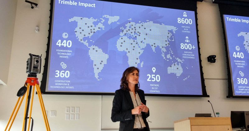 Trimble's VP Roz Buick speaks about transforming the AECO industry