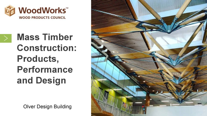 BCT Lecture: Designing with Mass Timber @ UMass Olver Design Building, Room 170