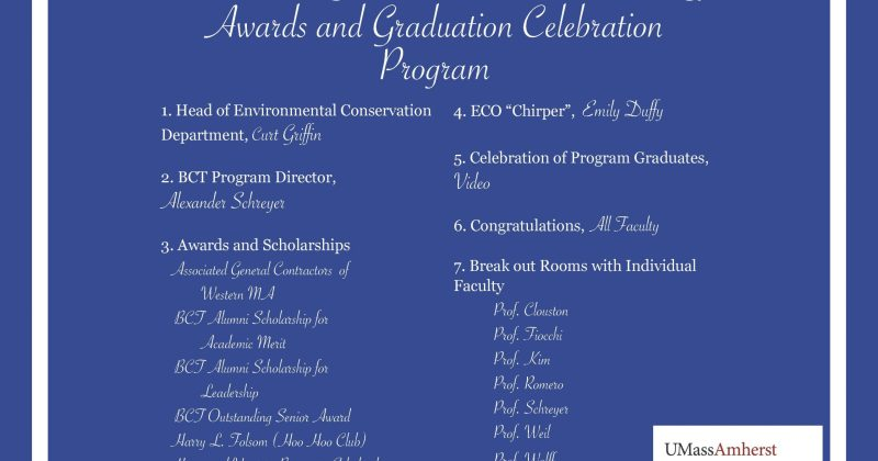 2020-21 BCT Awards and Scholarships