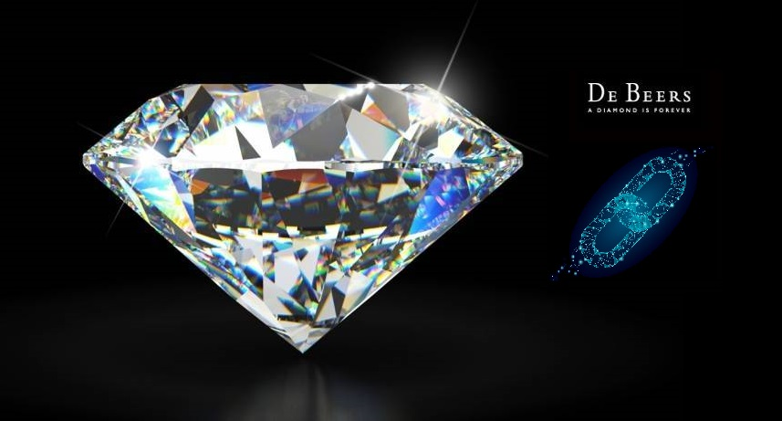 De Beers diamond blockchain