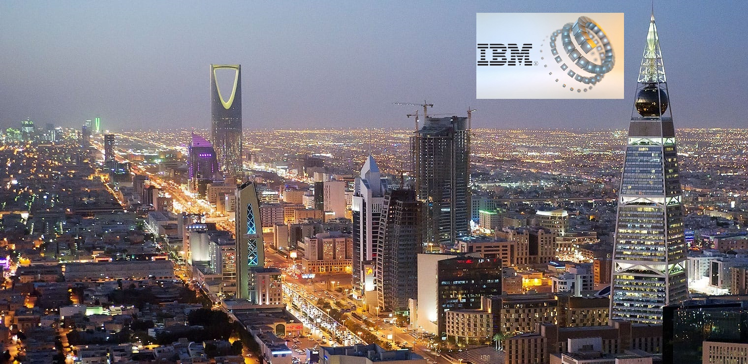 saudi arabia selects ibm to develop blockchain