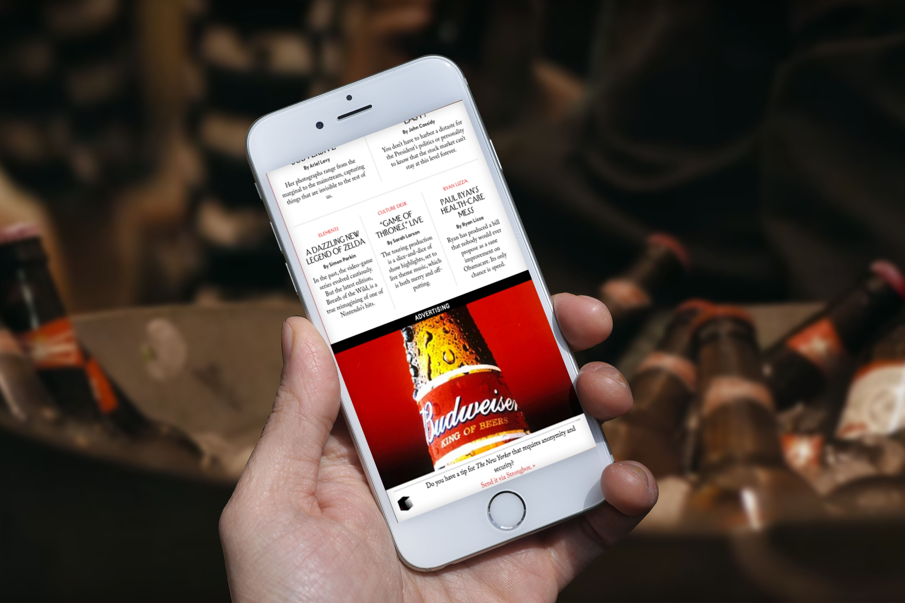 blockchain to track ad data budweiser kiip