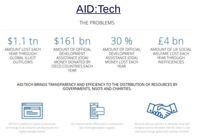 aidtech worlds first blockchain baby
