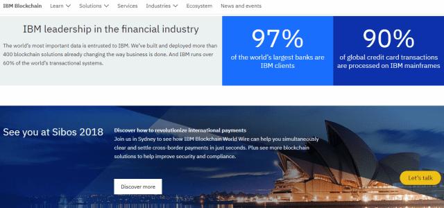 ibm blockchain payments platform