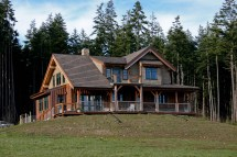 Timber Frame Homes British Columbia