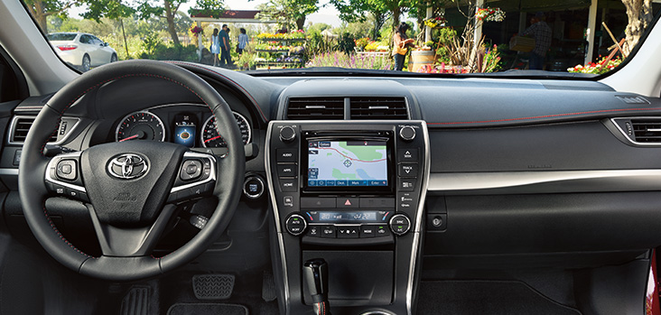 all new camry hybrid review jok grand avanza 2016 toyota interior dashboard