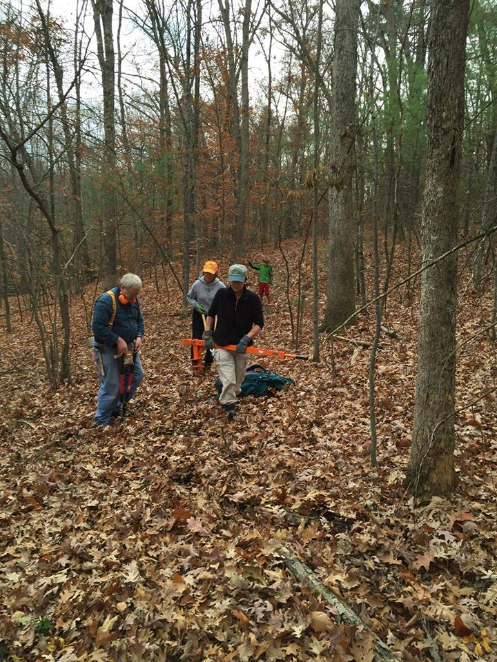 Shurtleff Woods Trail Clearing