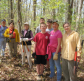 Trail maintenance at Beaver Brook Valley Preserve, May 2014