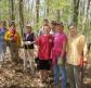 Trail maintenance at Beaver Brook Valley Preserve, May 2014