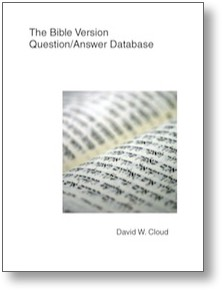 Bible Version Q/A Database