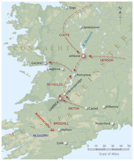The conquest of Connacht 1651-2