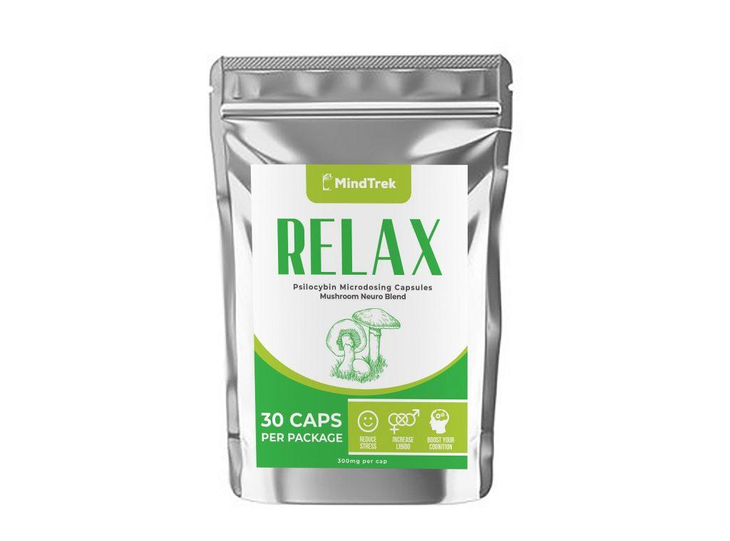 Relax Mindtrek Microdosing 30 caps