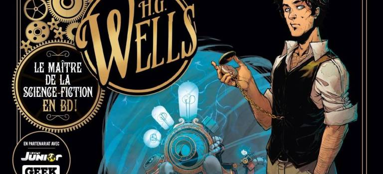 H.G. Wells en BD : La Machine à explorer le Temps