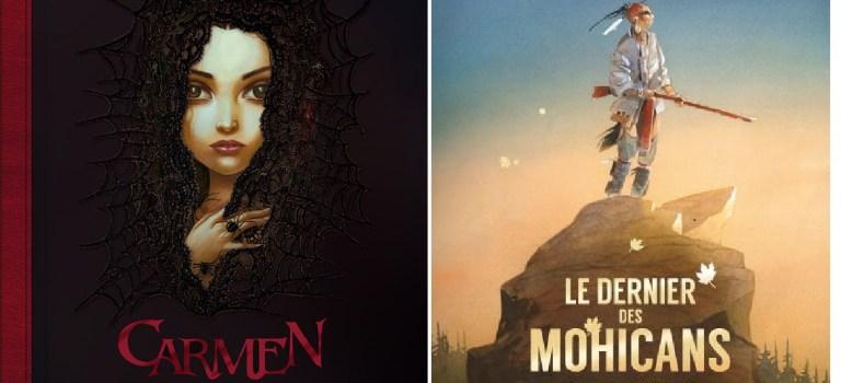 Le Dernier des Mohicans et Carmen