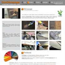 ecodecapage un site internet realise par bd communication agence web a quimper