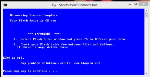 Shortcut- Virus- Remover